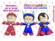 FLEXI NIÑO ESCUDOS HEROES